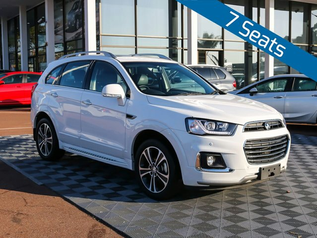 Used Holden Captiva CG MY17 LTZ AWD, 2016 Holden Captiva CG MY17 LTZ AWD White 6 Speed Sports Automatic Wagon