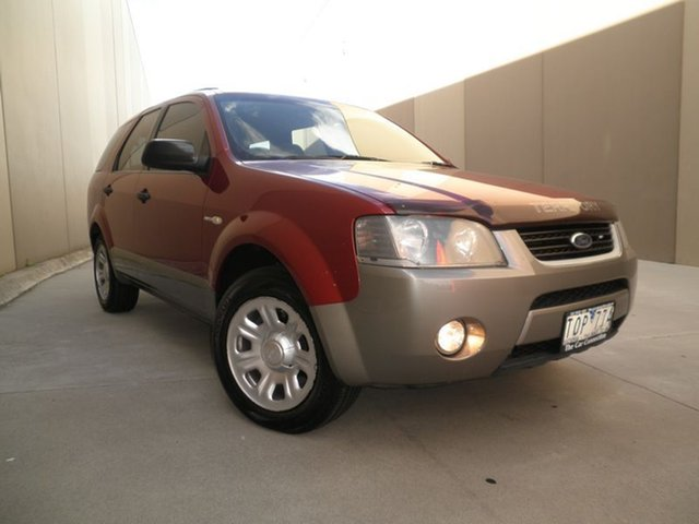Used Ford Territory SX TX AWD, 2005 Ford Territory SX TX AWD Burgundy & Silver 4 Speed Sports Automatic Wagon