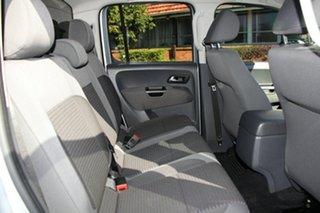 2012 Volkswagen Amarok 2H MY12 TDI400 4Mot Highline Silver 6 Speed Manual Utility