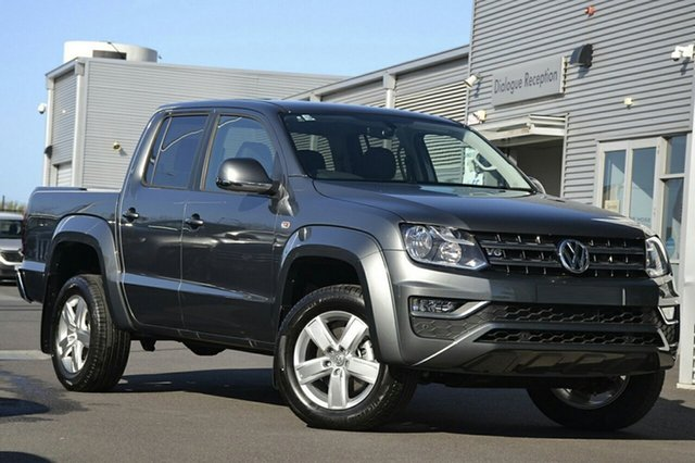 New Volkswagen Amarok 2H MY19 TDI550 4MOTION Perm Sportline, 2018 Volkswagen Amarok 2H MY19 TDI550 4MOTION Perm Sportline Indium Grey 8 Speed Automatic Utility