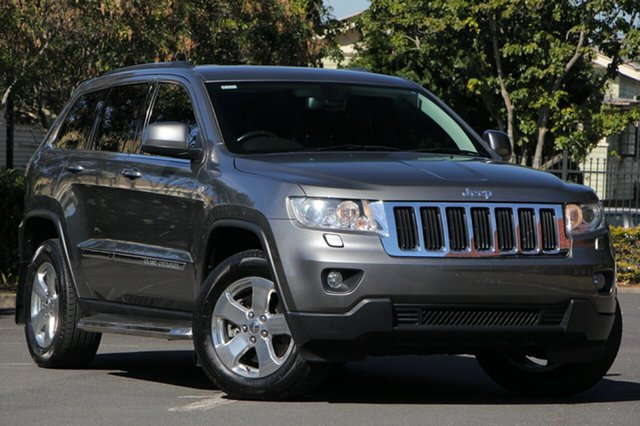 Used Jeep Grand Cherokee WK MY2013 Laredo, 2012 Jeep Grand Cherokee WK MY2013 Laredo Grey 5 Speed Sports Automatic Wagon