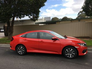 2017 Honda Civic 10th Gen MY16 VTi-S Rallye Red 1 Speed Constant Variable Sedan