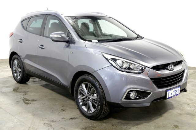 Used Hyundai ix35 LM3 MY14 SE, 2013 Hyundai ix35 LM3 MY14 SE Steel Grey 6 Speed Sports Automatic Wagon
