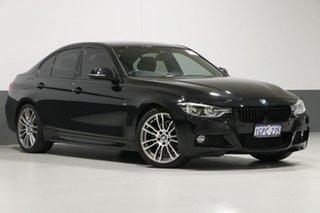 2015 BMW 330i F30 LCI M Sport Black 8 Speed Automatic Sedan.