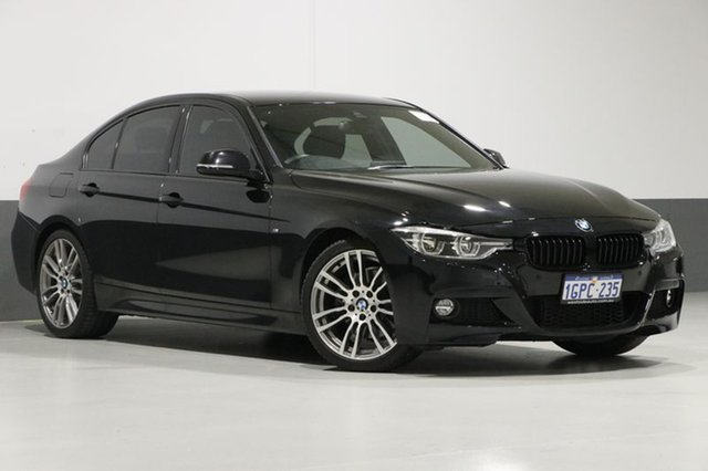Used BMW 330i F30 LCI M Sport, 2015 BMW 330i F30 LCI M Sport Black 8 Speed Automatic Sedan