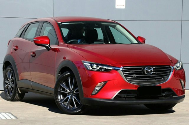 New Mazda CX-3 DK2W7A sTouring SKYACTIV-Drive FWD, 2019 Mazda CX-3 DK2W7A sTouring SKYACTIV-Drive FWD Soul Red Crystal 6 Speed Sports Automatic Wagon