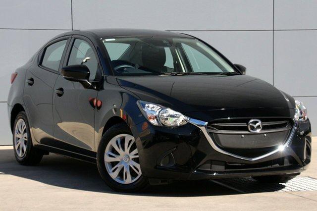 Used Mazda 2 DL2SAA Neo SKYACTIV-Drive, 2017 Mazda 2 DL2SAA Neo SKYACTIV-Drive Jet Black 6 Speed Sports Automatic Sedan