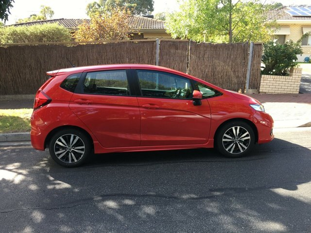Demo Honda Jazz GF MY19 VTi-S, 2018 Honda Jazz GF MY19 VTi-S Rallye Red 1 Speed Constant Variable Hatchback