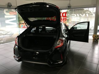 2017 Honda Civic 10th Gen MY17 VTI-LX Crystal Black 1 Speed Constant Variable Hatchback