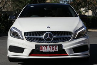 2013 Mercedes-Benz A250 W176 Sport D-CT White 7 Speed Sports Automatic Dual Clutch Hatchback