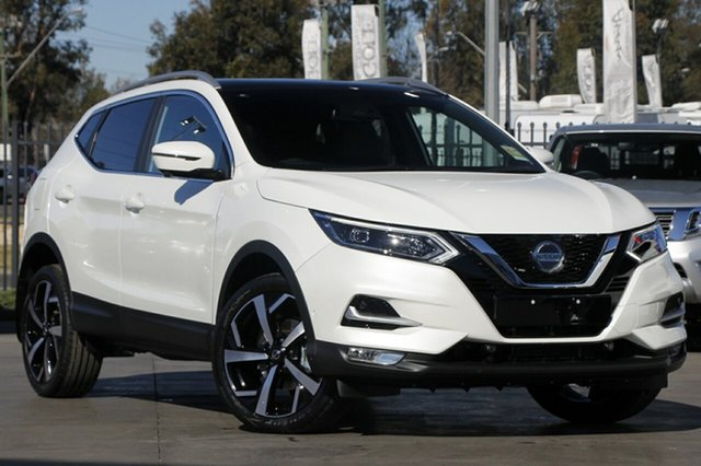 New Nissan Qashqai J11 Series 3 MY20 Ti X-tronic, 2019 Nissan Qashqai J11 Series 3 MY20 Ti X-tronic Ivory Pearl 1 Speed Constant Variable Wagon