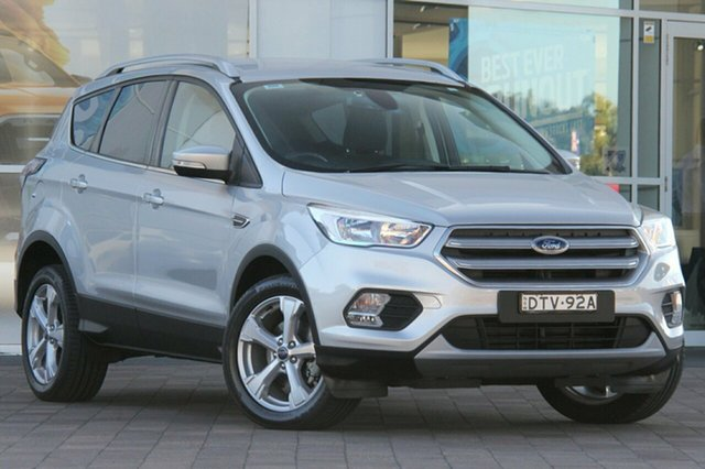 Used Ford Escape ZG Trend 2WD, 2017 Ford Escape ZG Trend 2WD Moondust Silver 6 Speed Sports Automatic SUV