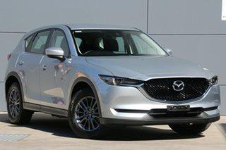 2017 Mazda CX-5 KF4WLA Maxx SKYACTIV-Drive i-ACTIV AWD Sport Sonic Silver 6 Speed Sports Automatic.