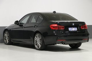 2015 BMW 330i F30 LCI M Sport Black 8 Speed Automatic Sedan