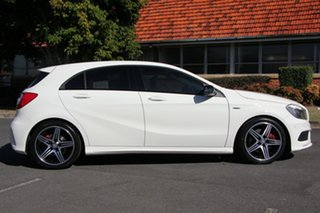 2013 Mercedes-Benz A250 W176 Sport D-CT White 7 Speed Sports Automatic Dual Clutch Hatchback.