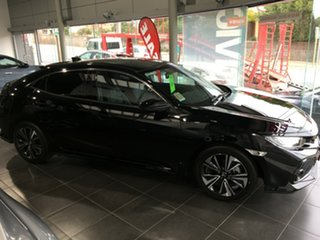 2017 Honda Civic 10th Gen MY17 VTI-LX Crystal Black 1 Speed Constant Variable Hatchback.