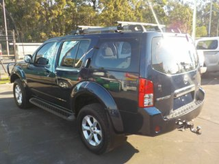 2009 Nissan Pathfinder R51 MY07 ST-L (4x4) Blue 5 Speed Automatic Wagon.