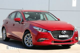 2018 Mazda 3 BN5478 Touring SKYACTIV-Drive Soul Red Crystal 6 Speed Sports Automatic Hatchback.