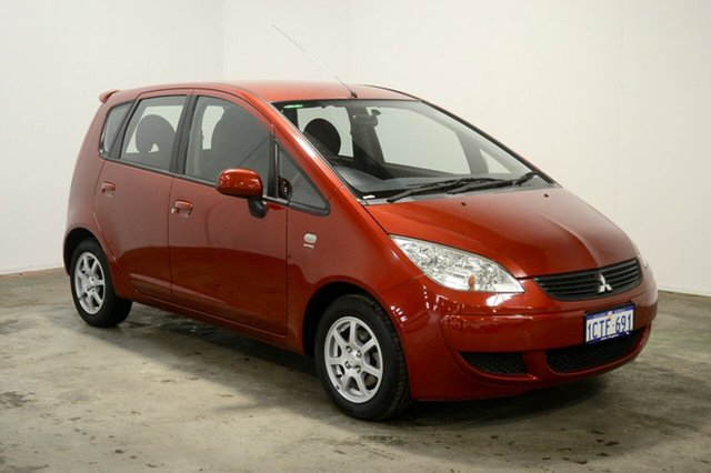 Used Mitsubishi Colt RG MY07 LS, 2007 Mitsubishi Colt RG MY07 LS Red 1 Speed Constant Variable Hatchback