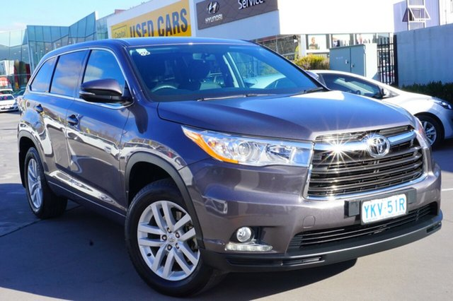 Used Toyota Kluger GSU50R GX 2WD, 2015 Toyota Kluger GSU50R GX 2WD Grey 6 Speed Sports Automatic Wagon