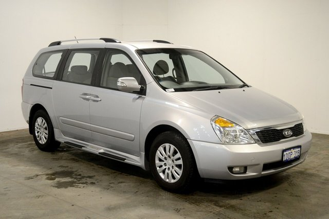 Used Kia Grand Carnival VQ MY11 SI, 2011 Kia Grand Carnival VQ MY11 SI Clear White 6 Speed Sports Automatic Wagon