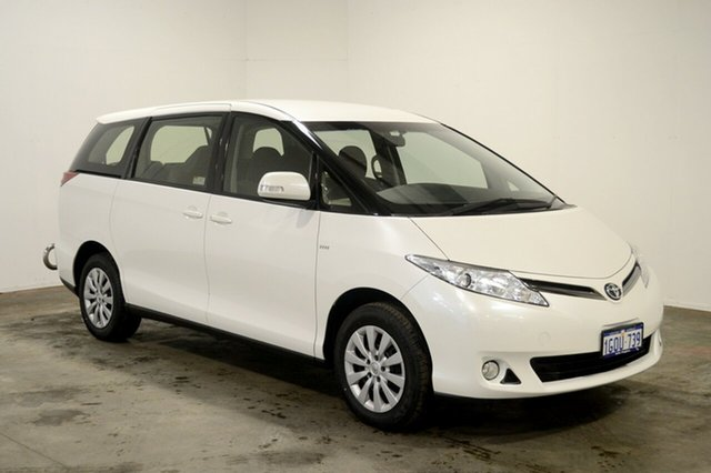 Used Toyota Tarago ACR50R MY13 GLi, 2015 Toyota Tarago ACR50R MY13 GLi White 7 Speed Constant Variable Wagon