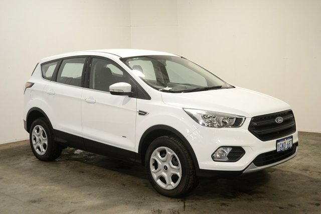 Used Ford Escape ZG Ambiente AWD, 2017 Ford Escape ZG Ambiente AWD Frozen White 6 Speed Sports Automatic Wagon