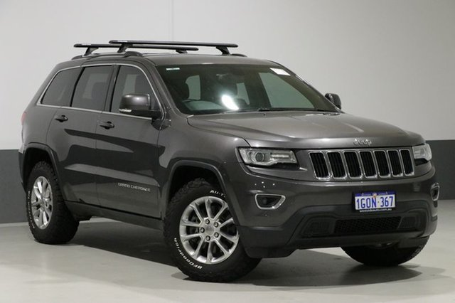 Used Jeep Grand Cherokee WK MY14 Laredo (4x4), 2013 Jeep Grand Cherokee WK MY14 Laredo (4x4) Grey 8 Speed Automatic Wagon