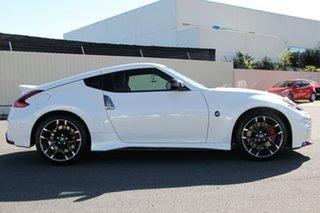 2021 Nissan 370Z Z34 MY20 Nismo Shiro White 7 Speed Sports Automatic Coupe.
