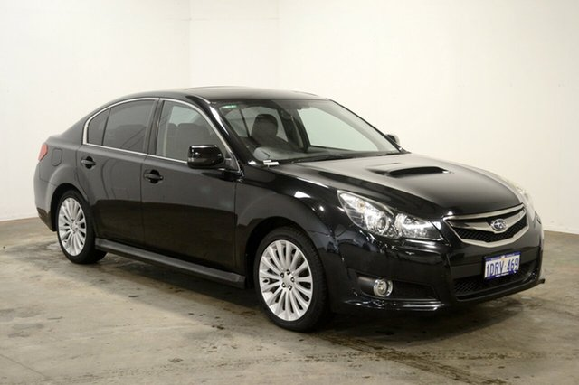Used Subaru Liberty B5 MY11 GT AWD Premium, 2011 Subaru Liberty B5 MY11 GT AWD Premium Black 5 Speed Sports Automatic Sedan