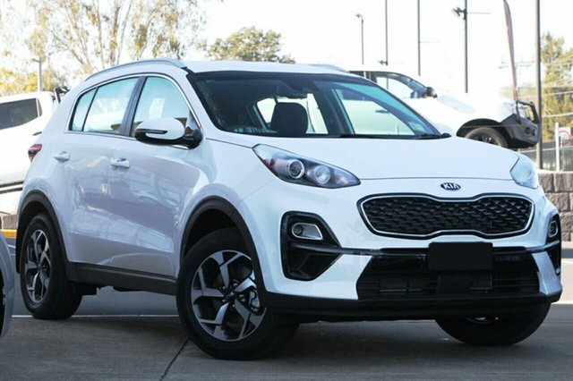 New Kia Sportage QL MY19 Si 2WD, 2019 Kia Sportage QL MY19 Si 2WD Clear White 6 Speed Sports Automatic Wagon