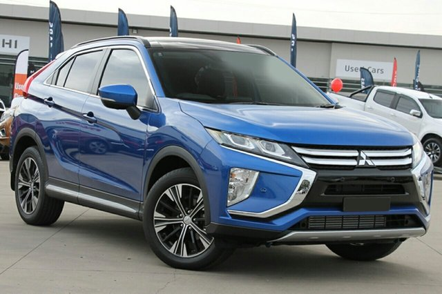New Mitsubishi Eclipse Cross YA MY18 Exceed 2WD, 2018 Mitsubishi Eclipse Cross YA MY18 Exceed 2WD Lightning Blue 8 Speed Constant Variable Wagon