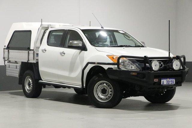 Used Mazda BT-50 MY13 XTR (4x4), 2014 Mazda BT-50 MY13 XTR (4x4) White 6 Speed Automatic Dual Cab Utility