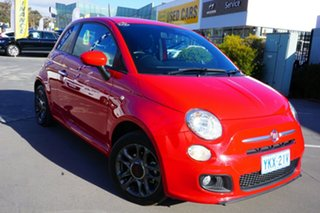 2015 Fiat 500 Series 3 S Red 6 Speed Manual Hatchback.
