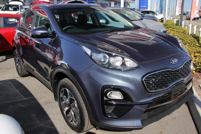 New Kia Sportage QL MY19 Si AWD, 2018 Kia Sportage QL MY19 Si AWD Mercury Blue 8 Speed Sports Automatic Wagon