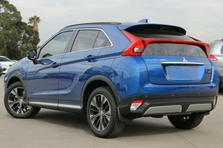 2020 Mitsubishi Eclipse Cross YA MY20 Exceed 2WD Lightning Blue 8 Speed Constant Variable Wagon.