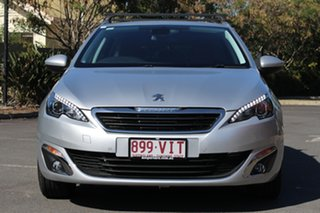 2014 Peugeot 308 T9 Allure Touring Silver 6 Speed Sports Automatic Wagon
