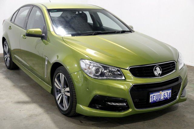 Used Holden Commodore VF MY15 SV6, 2015 Holden Commodore VF MY15 SV6 Green 6 Speed Sports Automatic Sedan