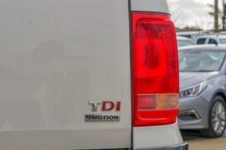 2013 Volkswagen Amarok 2H MY14 TDI420 4Motion Perm Trendline White 8 Speed Automatic Utility