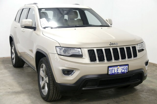 Used Jeep Grand Cherokee WK MY2014 Laredo, 2013 Jeep Grand Cherokee WK MY2014 Laredo Beige 8 Speed Sports Automatic Wagon