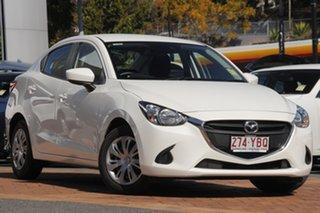 2018 Mazda 2 DL2SAA Neo SKYACTIV-Drive Snowflake White 6 Speed Sports Automatic Sedan.