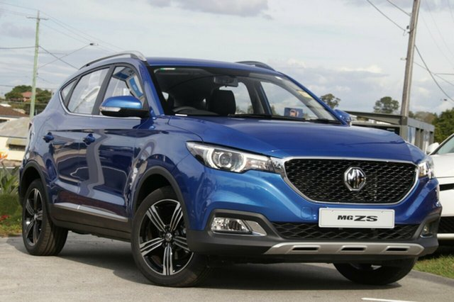 New MG ZS AZS1 MY19 Excite Plus 2WD, 2019 MG ZS AZS1 MY19 Excite Plus 2WD Regal Blue 6 Speed Automatic Wagon