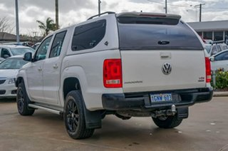 2013 Volkswagen Amarok 2H MY14 TDI420 4Motion Perm Trendline White 8 Speed Automatic Utility.