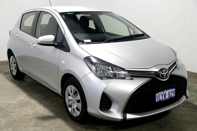 Used Toyota Yaris NCP130R Ascent, 2016 Toyota Yaris NCP130R Ascent Silver 4 Speed Automatic Hatchback