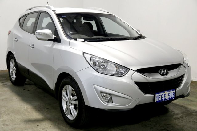 Used Hyundai ix35 LM2 Elite, 2013 Hyundai ix35 LM2 Elite Sleek Silver 6 Speed Sports Automatic Wagon