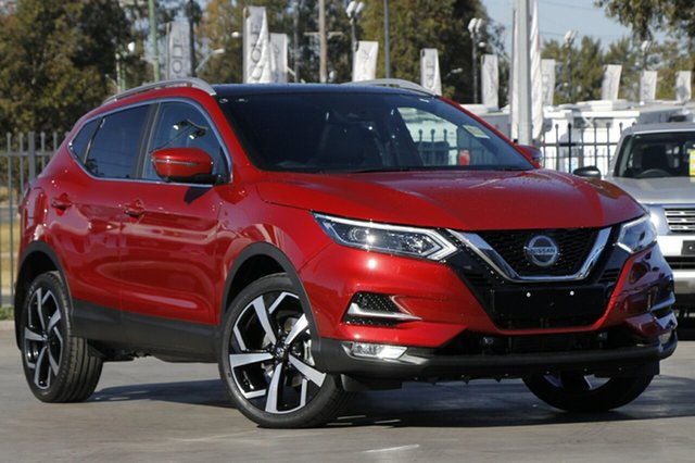 New Nissan Qashqai J11 Series 3 MY20 Ti X-tronic St Marys, 2020 Nissan Qashqai J11 Series 3 MY20 Ti X-tronic Magnetic Red 1 Speed Constant Variable Wagon