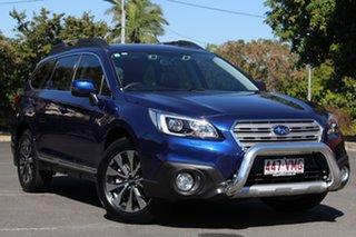2015 Subaru Outback B6A MY15 3.6R CVT AWD Blue 6 Speed Constant Variable Wagon.