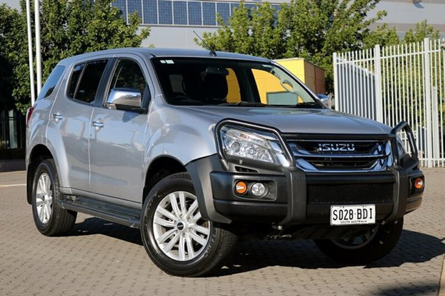 Used Isuzu MU-X MY14 LS-U Rev-Tronic, 2014 Isuzu MU-X MY14 LS-U Rev-Tronic Silver 5 Speed Sports Automatic Wagon