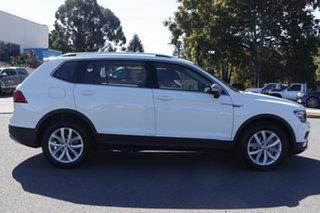 2020 Volkswagen Tiguan 5N MY20 132TSI Comfortline DSG 4MOTION Allspace Pure White 7 Speed.