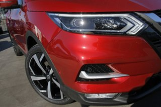 2021 Nissan Qashqai J11 Series 3 MY20 Ti X-tronic Magnetic Red 1 Speed Constant Variable Wagon.